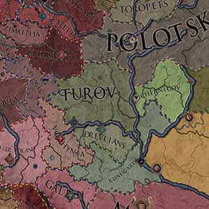 fictional map of Europe