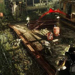 Crysis 3 Abandoned Train Station