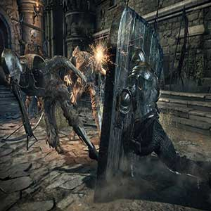Dark Souls 3 Xbox One Giant enemy