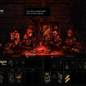 Darkest Dungeon battle