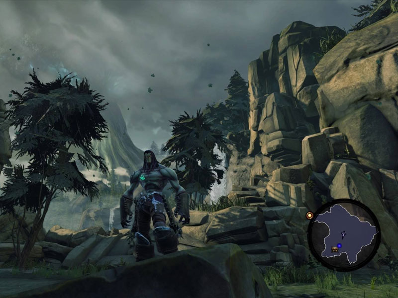 darksiders ii deathinitive edition ps4 frame rate