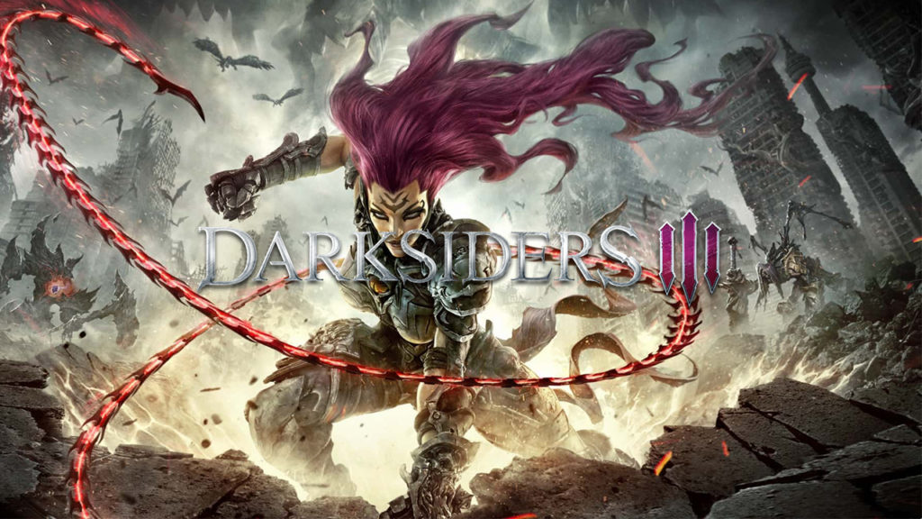 Darksiders 3 Launch Banner