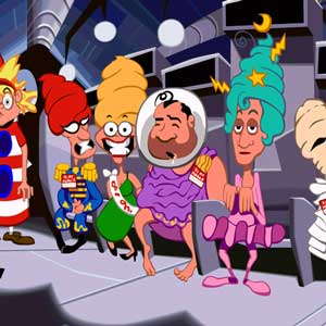 Day Of The Tentacle Remastered Characters