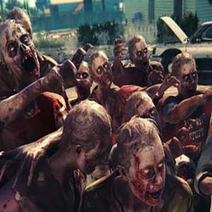 Dead Island 2 Xbox One Shooting at zombies
