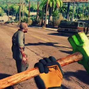 Dead Island 2 PS4 Sledge hammer weapon