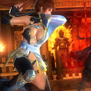Dead or Alive 5: Last Round Fight Scene