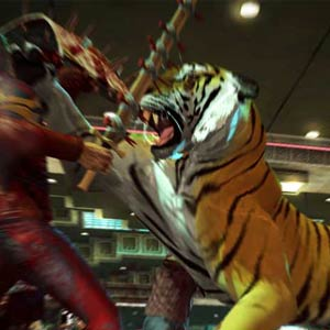Dead Rising 2 Facing Tiger