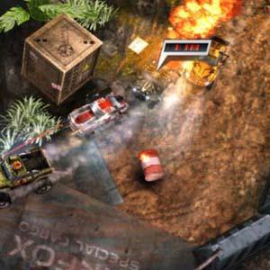 Death Rally Terrain