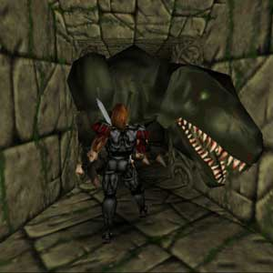Deathtrap Dungeon The great dragon