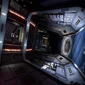 journey through the WSA space station