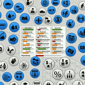 Democracy 3 Simulation Game