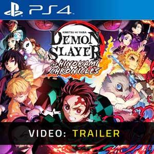 Demon Slayer Kimetsu no Yaiba The Hinokami Chronicles PS4 Video Trailer