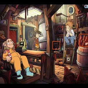 Deponia Doomsday China shop