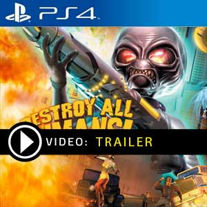 Destroy All Humans PS4 Prices Digital or Box Edition