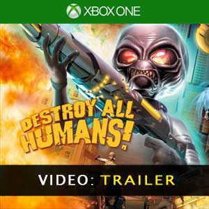 Buy Destroy All Humans Xbox One Game Code Compare Prices