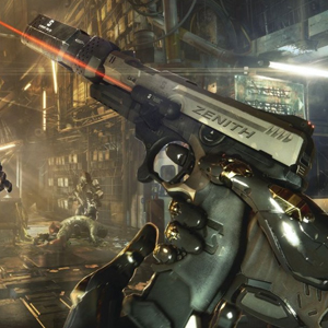 Deus Ex Mankind Divided Xbox One - Pistol