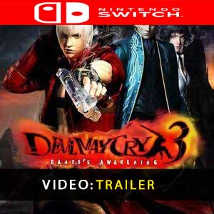 Devil May Cry 3 Nintendo Switch Prices Digital or Box Edition