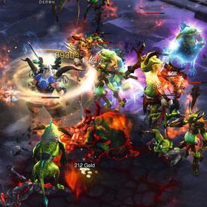 Diablo 3 Xbox One Combat
