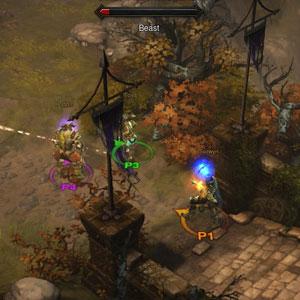 Diablo 3 Xbox One Environment