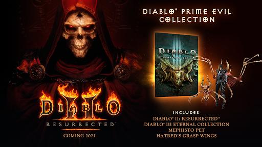 Diablo II Prime Evil Colelction contents
