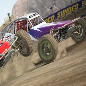 Short-course dirt track racing