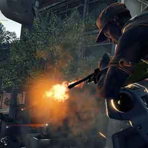 Dirty Bomb: Firing from above