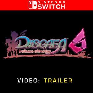Disgaea 6 Defiance of Destiny Nintendo Switch Video Trailer