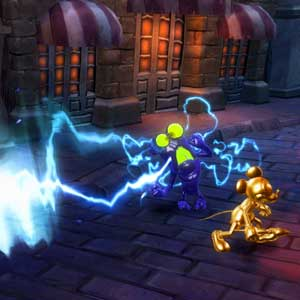 Disney Epic Mickey 2 Fight