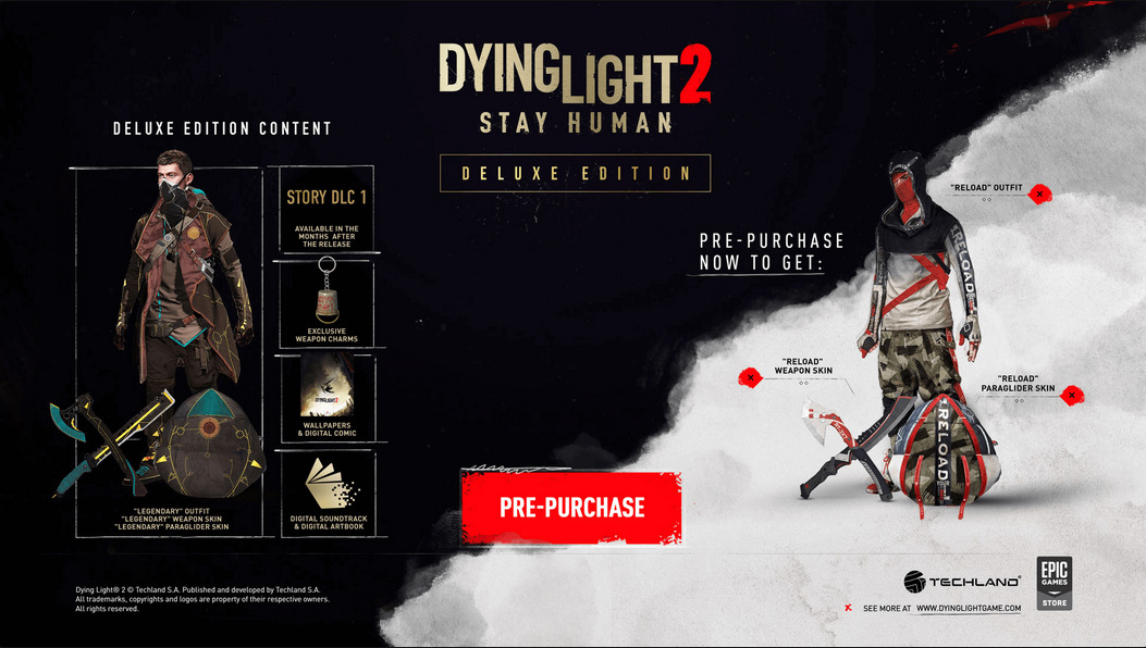 Dying Light 2 Deluxe Edition CD Key Deals