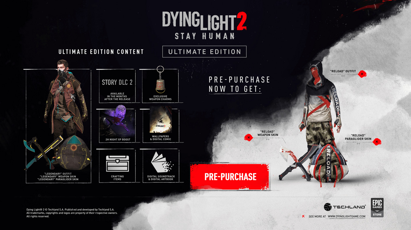 Cheap Dying Light 2 Ultimate Edition CD Key