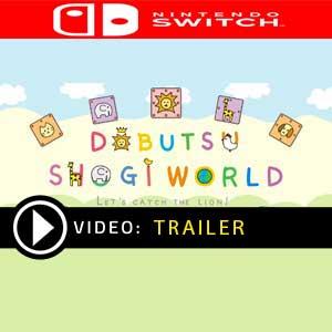 DOBUTSU SHOGI WORLD Nintendo Switch Gameplay Video