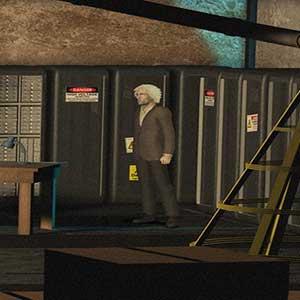 Professor Higgins laboratory