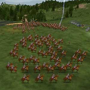 Hoard of warriors