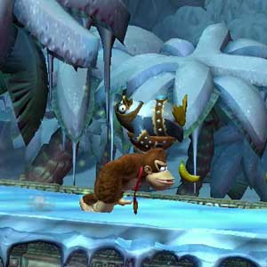 Donkey Kong Country Tropical Freeze Nintendo Wii U Walking