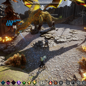 Dragon Age Inquisition Xbox One Battle