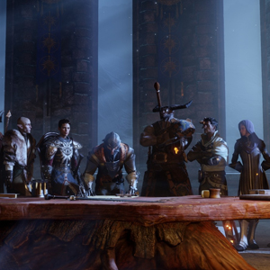 Dragon Age Inquisition PS4 Characters