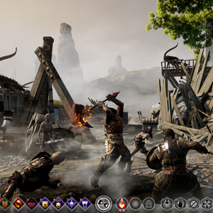 Dragon Age Inquisition PS4 Gameplay