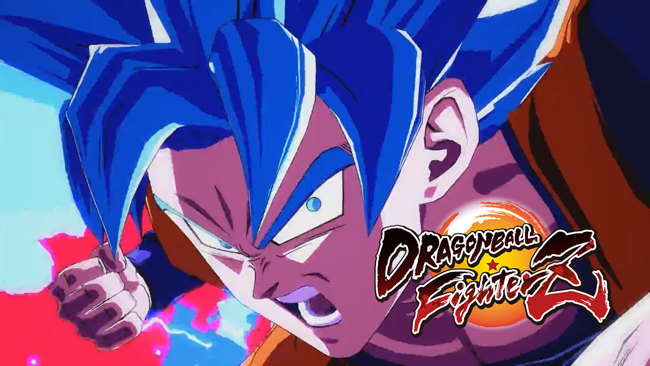 Dragon Ball FighterZ Trailer Cover
