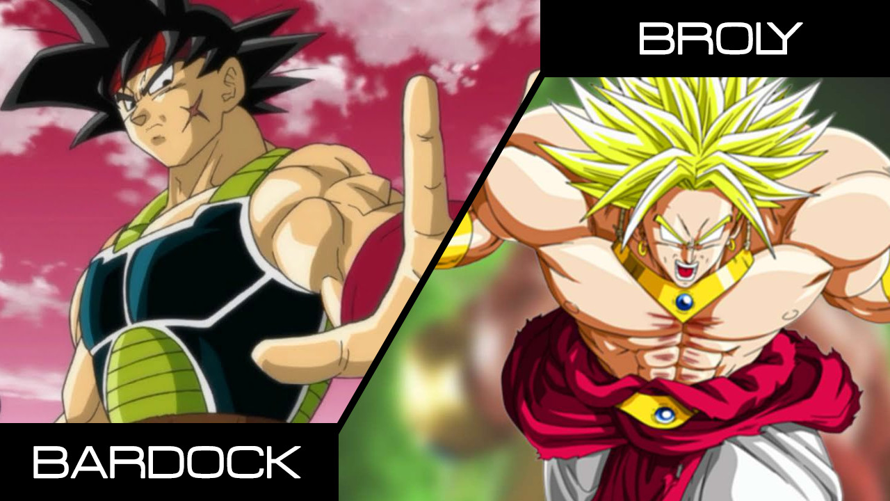 Bardock and Broly