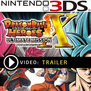 Dragon Ball Heroes Ultimate Mission X Nintendo 3DS Prices Digital or Box Edition