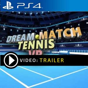 Dream Match Tennis VR PS4 Prices Digital or Box Edition