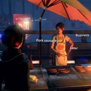 Dreamfall Chapters Screenshot: Interacting with NPCs