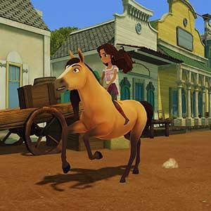 DreamWorks Spirit Lucky's Big Adventure - Ride