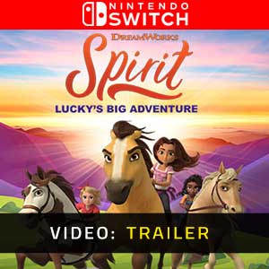 DreamWorks Spirit Lucky's Big Adventure Nintendo Switch Video Trailer