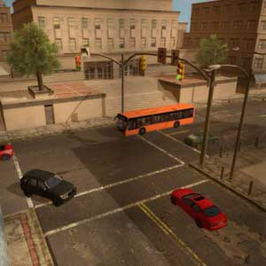 Driving School Simulator - Intersection
