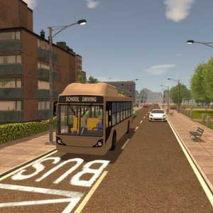 Driving School Simulator - Bus Stop