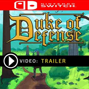 Duke of Defense Nintendo Switch Prices Digital or Box Edition