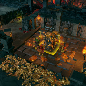 Dungeons 3 Gameplay Image