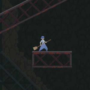 Dustforce Janitor