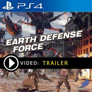 EARTH DEFENSE FORCE IRON RAIN PS4 Prices Digital or Box Edition